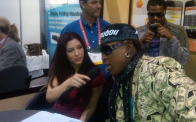 Rodman appears at CES convention in Las Vegas