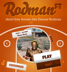 Rodman Free Throw App Now Available on iTunes