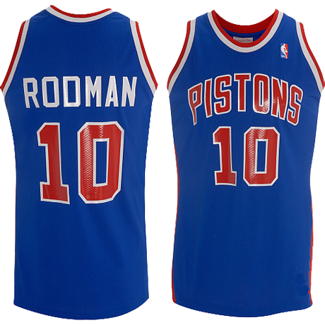 the latest 61db1 dcbea Pistons Retiring Dennis Rodman's Number | Dennis Rodman